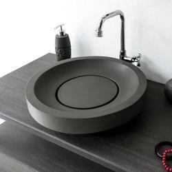 Napoli Dark Grey Concrete Basin - Sink - Vessel - Washbasin | Lavabos | ConSpire