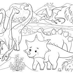 Altro WhiterockTM Imagination Wall, Dinosaurs | Kunststoff Fliesen | Altro