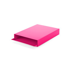Stapler | File Tray Stack, telemagenta RAL 4010 | Desk tidies | Magazin®