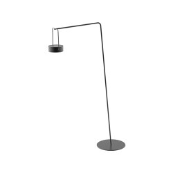 Moon Stehlampe mit Arm - Maxi   Außen Bodenleuchten   solpuri