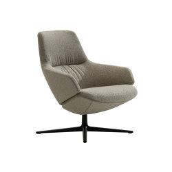 Aston Club | 4 ways low backrest | Armchairs | Arper