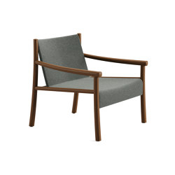 Kata | Armchair 4 wood legs, Outdoor | Armchairs | Arper