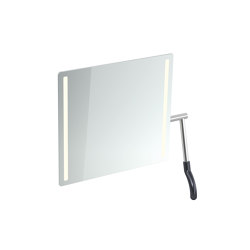 LED Adjustable mirror | Bath mirrors | HEWI
