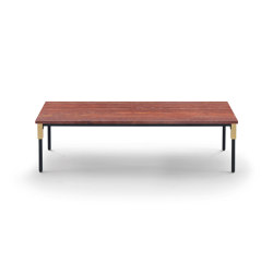 Match Small Table - Version with Travertine Top | Coffee tables | ARFLEX