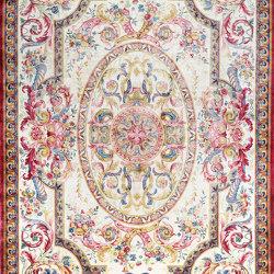 Savonnerie 001 pink white multi | Formatteppiche | THIBAULT VAN RENNE