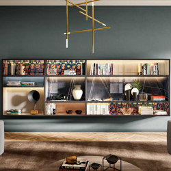 Librería 30mm - 1209 | Conjuntos de salón | LAGO