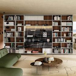 Librería 30mm - 1211 | Conjuntos de salón | LAGO