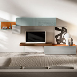 36e8 Tv Unit - 0513 | Multimedia sideboards | LAGO