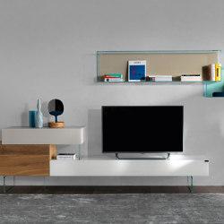 36e8 Tv Unit - 0514 | Multimedia sideboards | LAGO