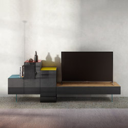36e8 Tv Unit - 0530 | Multimedia sideboards | LAGO