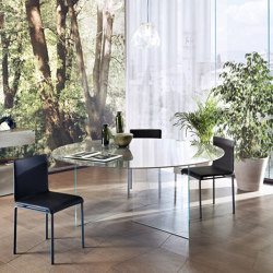 Air Round Table - Glass   Dining tables   LAGO