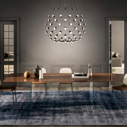 Air Table - XGlass   Dining tables   LAGO