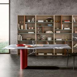 Bold Table - Calacatta black matt XGlass | Dining tables | LAGO