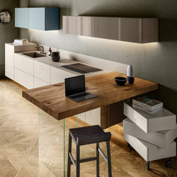 Space-saving ideas - 1098 | Fitted kitchens | LAGO