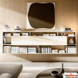 Home Office 1215 - Space-saving ideas for Living Room - Aparador 30mm | Estantería | LAGO