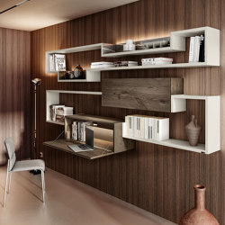 Home Office 1263 - Space-saving ideas for Other Spaces - LagoLinea Bookshelf   Shelving   LAGO
