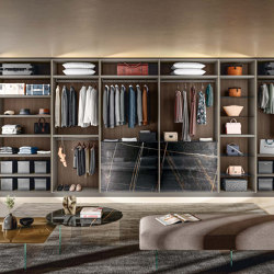 Outfit Walk-in Closet - 1180   Walk-in wardrobes   LAGO