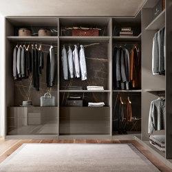 Outfit Walk-in Closet - 1182   Walk-in wardrobes   LAGO