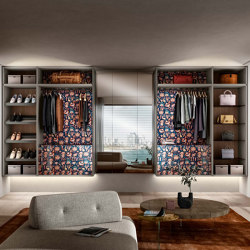 Outfit Walk-in Closet - 1184   Walk-in wardrobes   LAGO