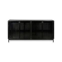 Anders | Black sideboard - 4 doors | Sideboards | Ethnicraft