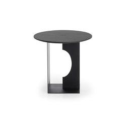 Arc | Teak Black side table - varnished | Tables d'appoint | Ethnicraft
