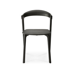 Bok   Oak black dining chair - varnished   Chairs   Ethnicraft