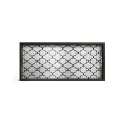Classic tray collection | Bronze Gate mirror tray - rectangular - M | Trays | Ethnicraft