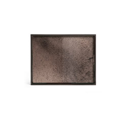 Classic tray collection | Bronze mirror tray - rectangular - S | Trays | Ethnicraft