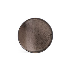 Classic tray collection | Bronze mirror tray - round - S | Trays | Ethnicraft