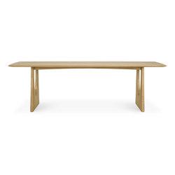 Geometric   Oak dining table   Tavoli pranzo   Ethnicraft