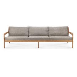Jack | Teak outdoor sofa - mocha | Canapés | Ethnicraft