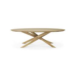 Mikado   Oak oval coffee table   Coffee tables   Ethnicraft