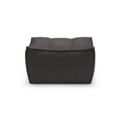 N701   Sofa - footstool - dark grey   Pouf   Ethnicraft
