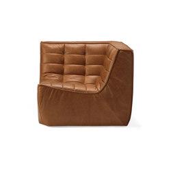 N701 | Sofa - corner - old saddle | Armchairs | Ethnicraft