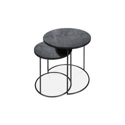 Nesting | Charcoal side table - set of 2 | Nesting tables | Ethnicraft