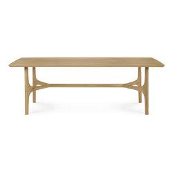 Nexus   Oak dining table   Tavoli pranzo   Ethnicraft