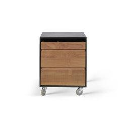 Oscar | Teak drawer unit - 3 drawers | Pedestals | Ethnicraft