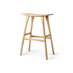 Osso   Oak bar stool - varnished   Barhocker   Ethnicraft