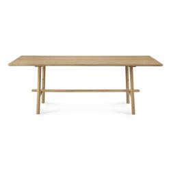Profile   Oak dining table - varnished   Tavoli pranzo   Ethnicraft