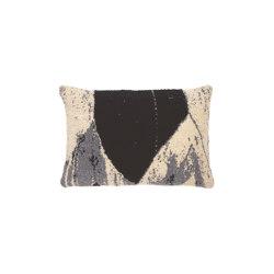 Refined Layers collection | Nero Chevron cushion - lumbar | Cushions | Ethnicraft