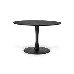 Torsion | Oak black dining table - varnished | Tavoli pranzo | Ethnicraft