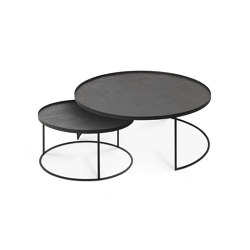 Tray tables | Round tray coffee table set - L/XL (trays not included) | Nesting tables | Ethnicraft