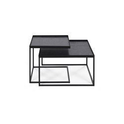 Tray tables | Square tray coffee table set - S/L (trays not included) | Nesting tables | Ethnicraft