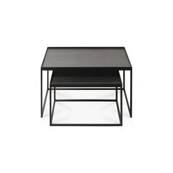Tray tables | Rectangular tray coffee table set - S/L (trays not included) | Nesting tables | Ethnicraft