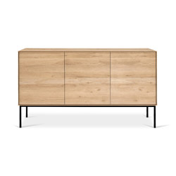 Whitebird | Oak sideboard - 3 doors - varnished | Sideboards | Ethnicraft
