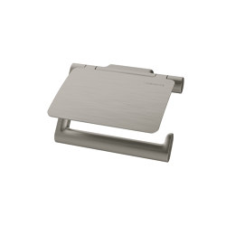 Nia Toilet paper holder with lid | Paper roll holders | Bodenschatz