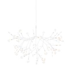 Heracleum II Suspended - Large White | Lámparas de suspensión | moooi