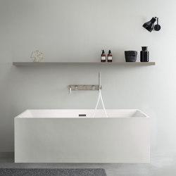 ACRYLIC | Melbourne Freestanding Acrylic Bathtub - 150cm | Bathtubs | Riluxa