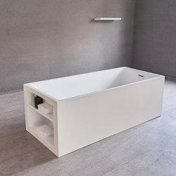 ACRYLIC | Perth Freestanding Acrylic Bathtub - 170cm | Bathtubs | Riluxa