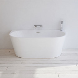 ACRYLIC | York Freestanding Acrylic Bathtub - 170cm | Bathtubs | Riluxa